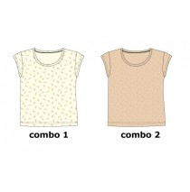 Kinship Teen girls shirt combo 2 spanish villa (6 pcs)