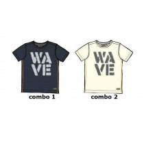 Kinship Small boys shirt combo 2 marshmallow (6 pcs)