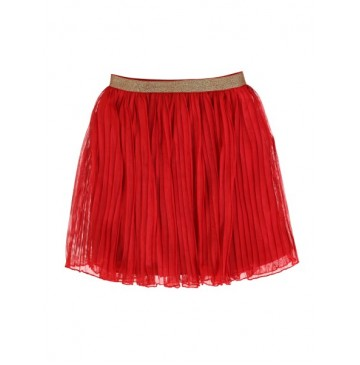Youth tonic teen girls skirt chinese red (10 pcs)