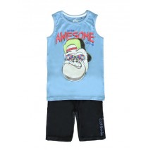 137844 Youth tonic small boys set combo 1 silver lake blue (6 pcs)