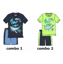 137853 Kinship small boys set combo 2 sharp green (6 pcs)