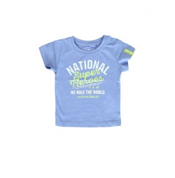 137858 Youth Tonic baby boys shirt wedgewood (4 pcs)