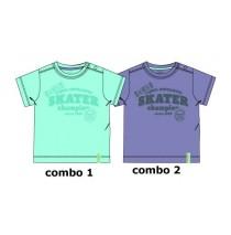 137862 Youth Tonic baby boys shirt combo 2 blue (4 pcs)