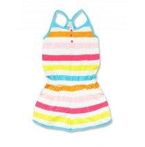 137876 Psychotropical small girls overall scuba blue+camine rose (12 pcs)