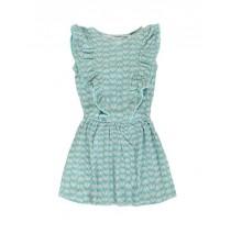 Kinship dress small girls dress combo 1 nile blue (6 pcs)