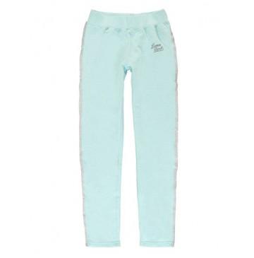Youth Tonic teen girls jogging pant blue melange (5 pcs)