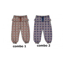 137934 Kinship baby girls pant combo 2 turkish sea (4 pcs)