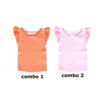 137936 Kinship baby girls shirt combo 2 orchid pinkl (4 pcs)