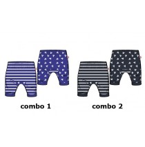 Kinship baby boys jogging pant combo 1 blue nights (4 pcs)