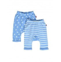Kinship baby boys jogging pant combo 1 turkish sea (4 pcs)