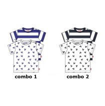 137973 Youth Tonic baby boys shirt 2 pack combo 2 blue nights (4 pcs)