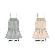Kinship Teen girls jumpsuit combo 2 spanish villa (6 pcs)