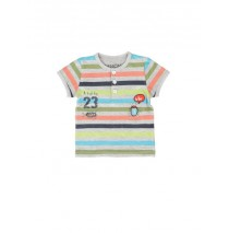 Psychotropical baby boys shirt combo 1 light grey melange (4 pcs)