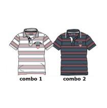 137995 Kinship small boys polo combo 2 vintage indigo (6 pcs)