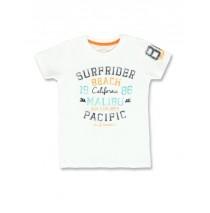 138003 Psychotropical small boys shirt optical white+blue tint (12 pcs)