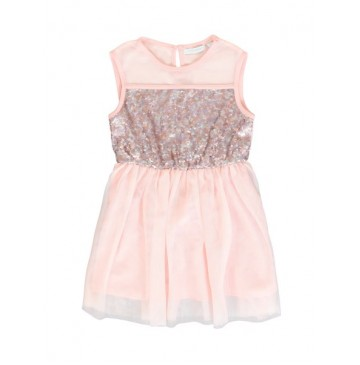 Kinship small girls dress pink (5 pcs)