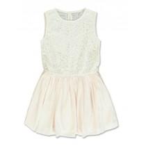 Coastal Crusie small girls dress pearl (5 pcs)
