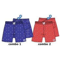 138024 Kinship Small boys swimwear combo 2 spiced coral (6 pcs)