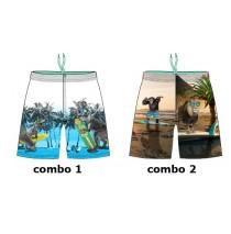 138031 Youth Tonic Small boys swimwear combo 2 monkey (6 pcs)