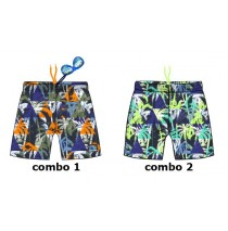 138063 Psychotropical Small boys swimwear combo 1 sharp green (6 pcs)