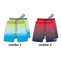 Youth tonic teen boys swimwear combo 2 spiced coral (6 pcs)