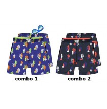 Psychotropical teen boys swimwear combo 2 blue nights (6 pcs)