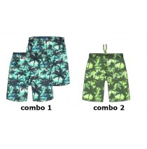 Psychotropical teen boys swimwear combo 2 sharp green (6 pcs)