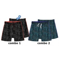 Psychotropical teen boys swimwear combo 2 blue (6 pcs)