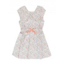 138086 Psychotropical small girls dress optical white (10 pcs)