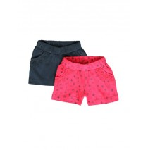 Kinship baby girls short (2-pack) combo 1 azalea (4 pcs)