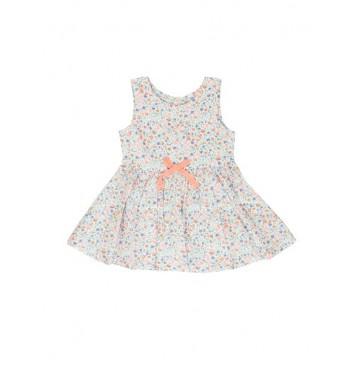138094 Kinship baby girls dress combo 1 bright coral (4 pcs)