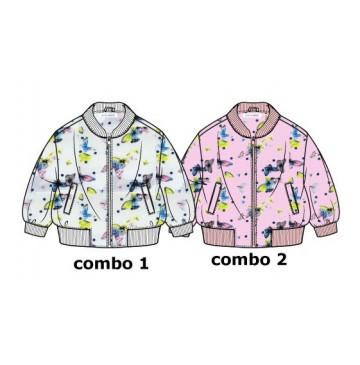 138104 Youth tonic baby girls jacket combo 2 orchid pink (4 pcs)