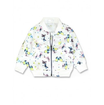 138104 Youth tonic baby girls jacket combo 1 optical white (4 pcs)