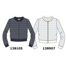 138907 Kinship teen girls cardigan sweater marshmallow (5pcs)
