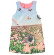 138138 Psychotropical small girls dress rabbits (5 pcs)