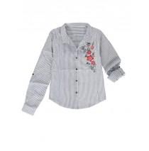 Kinship teen girls blouse blue (5 pcs)