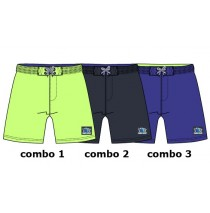 Kinship baby boys swimwear combo 2 blue nights (4 pcs)