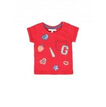 138337 Youth Tonic baby girls shirt american beauty+silver lake blue (8 pcs)