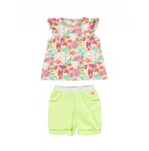 138361 Psychotropical baby girls set turkish sea+sharp green (8 pcs)