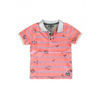 Kinship small boys polo combo 1 spiced coral (6 pcs)
