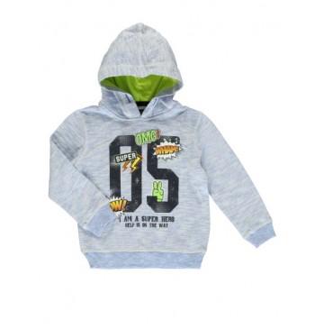 138415 Youth Tonic Small boys sweatshirt light blue  (10 pcs)
