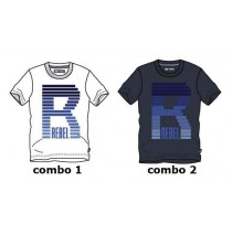 Kinship teen boys shirt combo 2 blue nights (6 pcs)