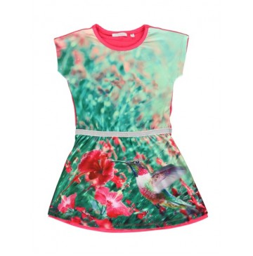 138458 Psychotropical small girls dress azalea (5 pcs)