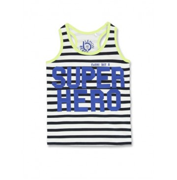Youth tonic small boys singlet combo 1 blue nights (6 pcs)