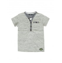 138616 Psychotropical Small boys shirt combo 1 grey (4 pcs)