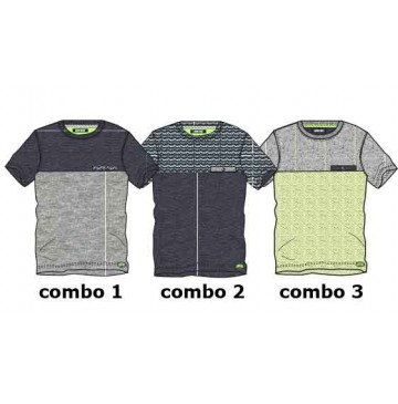 Psychotropical teen boys shirt combo 3 sharp green (4 pcs)
