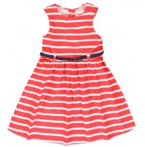 Coastal Cruise small girls dress hibiscus (5 pcs)