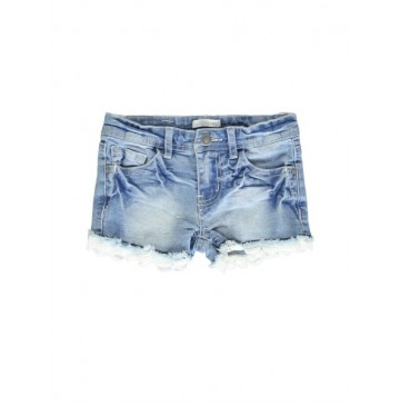 Coastal Cruise small girls denim short blue (5 pcs)