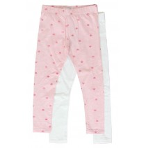 138913 Mermaids small girls legging pink melange (10 pcs)