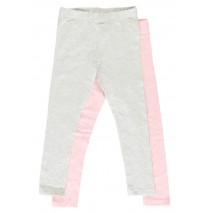 138914 Coastal Cruise small girls legging light grey melange (10 pcs)